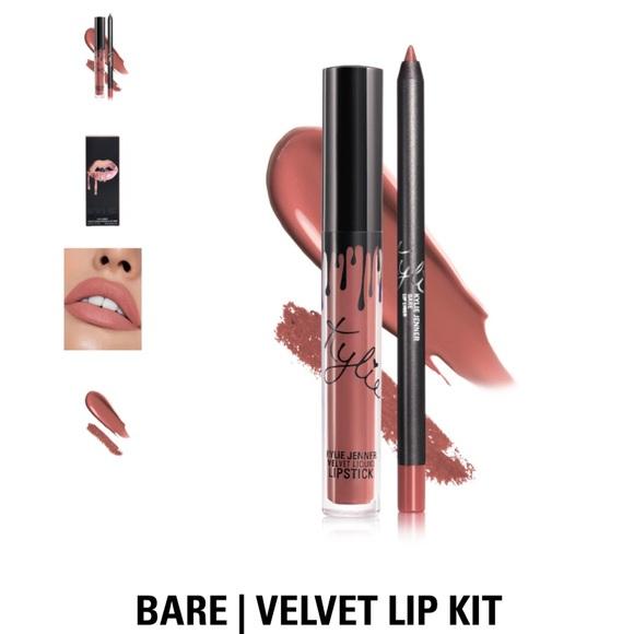 Kylie Cosmetics Other - Kylie Jenner Velvet Lip Kit - Bare